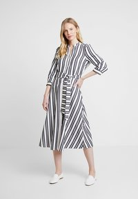Hobbs - LEANNA DRESS - Skjortekjole - white/black - 0