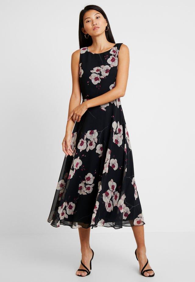 CARLY DRESS - Cocktailklänning - black multi