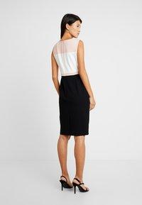 Hobbs - LEAH DRESS - Etuikjoler - black/pink - 3