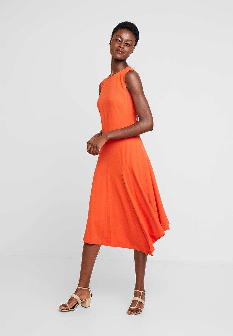 Hobbs - ANYA DRESS - Day dress - burnt orange