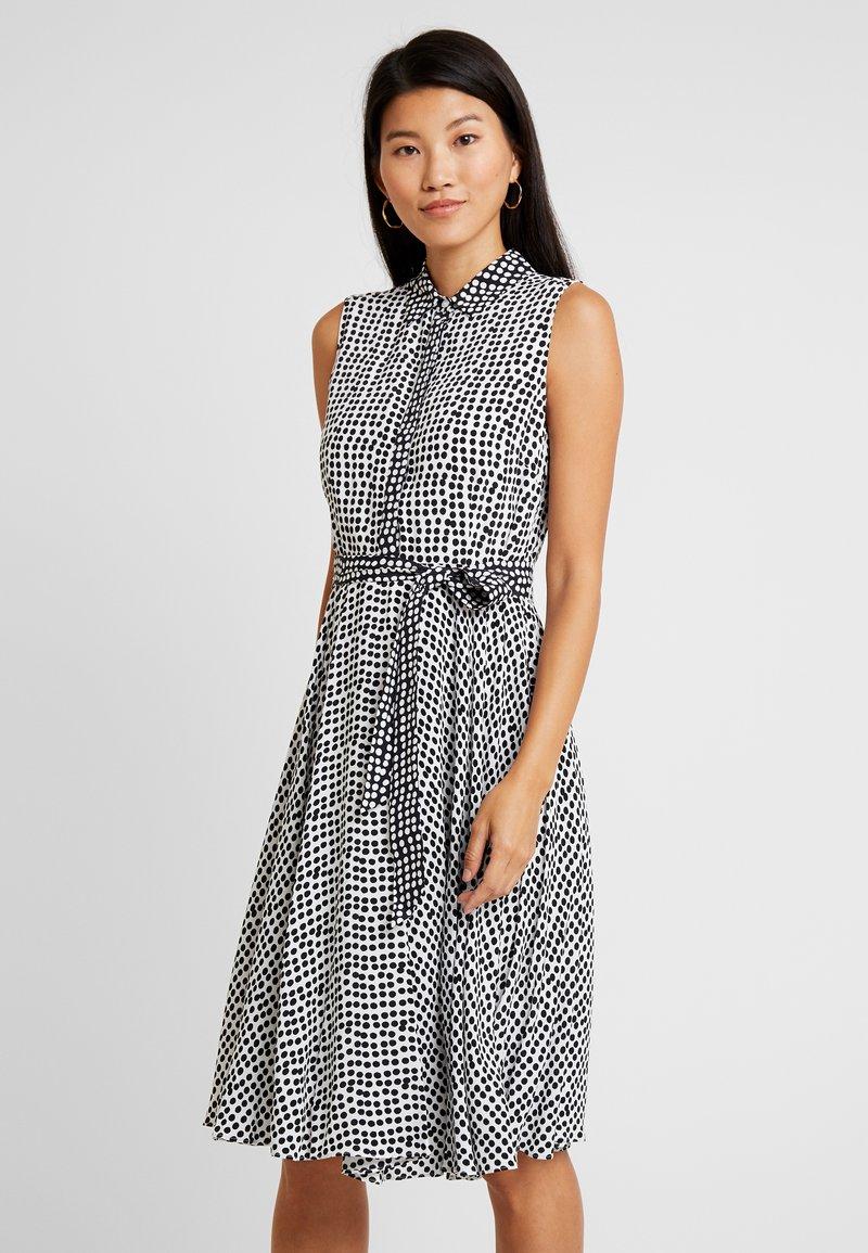 Hobbs - BELINDA DRESS - Shirt dress - ivory/black