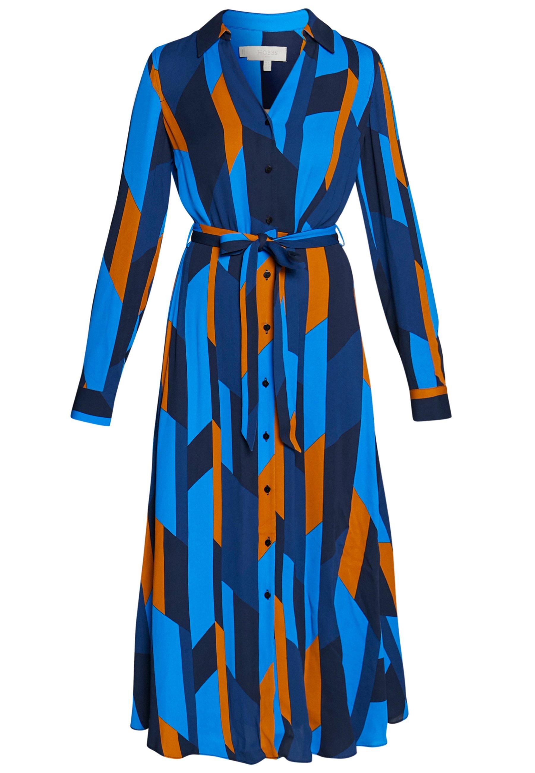 Hobbs Dalia Dress - Abito A Camicia Navy/multi ra6qxDI