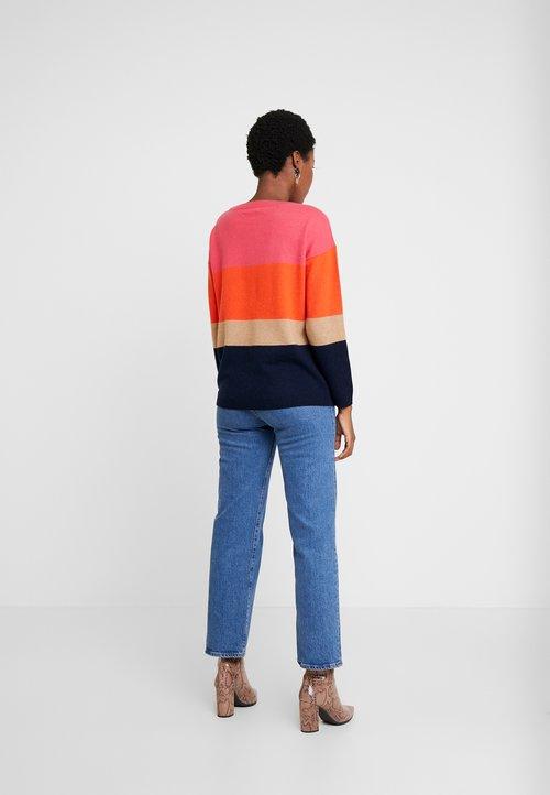 Hobbs SOFIA STRIPE - Sweter - multi Odzież Damska TOVM-IA7 gorąca wyprzedaż w 2019 roku