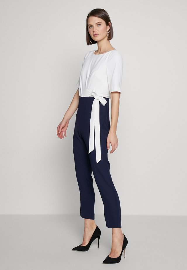 JULIANNA - Jumpsuit - midnight/ivory