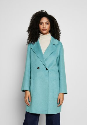 DOUBLE FACE COAT - Villakangastakki - pale blue
