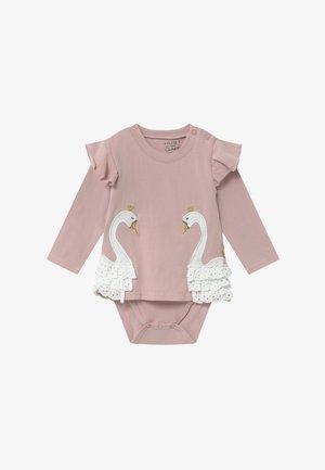 MAISE ROMPER BABY - Top sdlouhým rukávem - pink