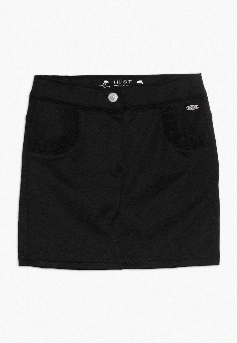 Hust & Claire - NADIA SKIRT - Mini skirt - black
