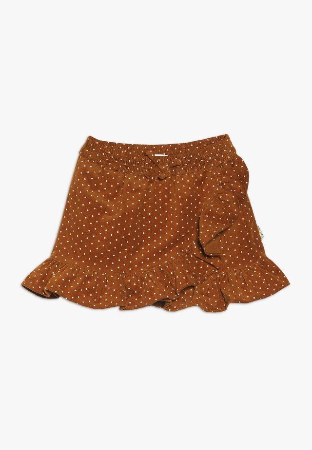 NORA SKIRT - Zavinovací sukně - caramel