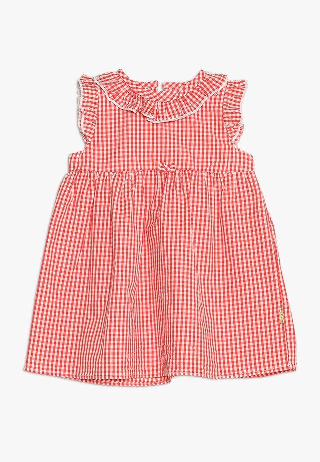 DALIA DRESS BABY - Day dress - poppy red
