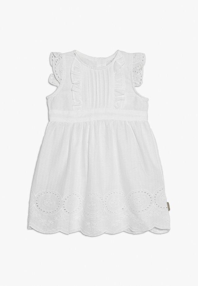 DORIS DRESS BABY - Denní šaty - white