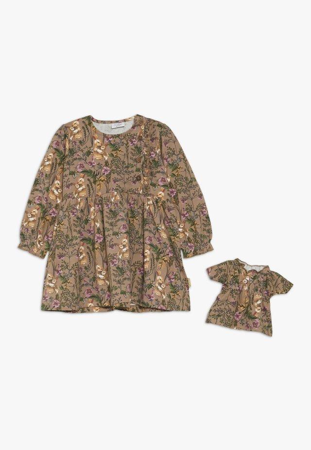 DOLLIE DRESS BABY - Jersey dress - ginger