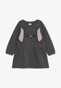 Hust & Claire - DRESS HASE - Vapaa-ajan mekko - wool grey - 2