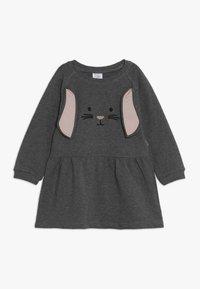 Hust & Claire - DRESS HASE - Vapaa-ajan mekko - wool grey - 0