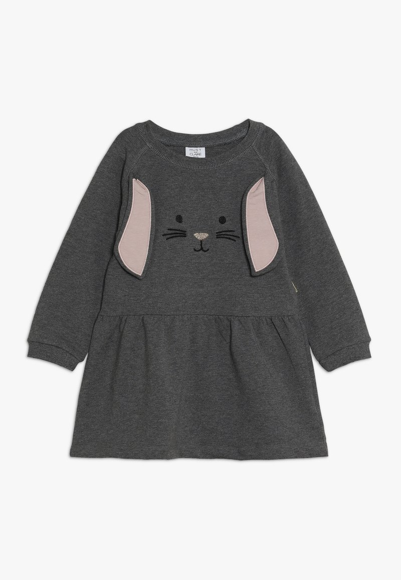 Hust & Claire - DRESS HASE - Vapaa-ajan mekko - wool grey