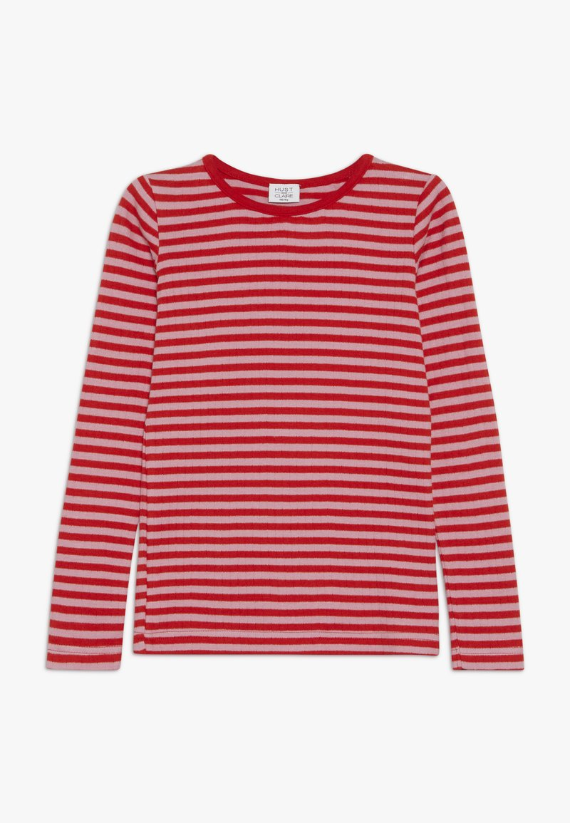 Hust & Claire - ABENA - Langærmede T-shirts - fiery red