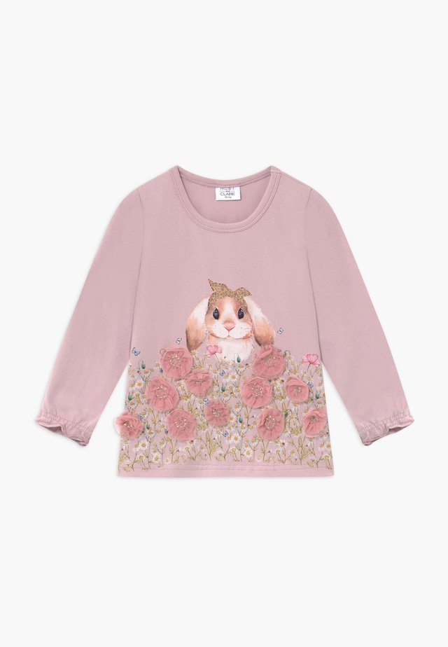 AMMY - Long sleeved top - light pink