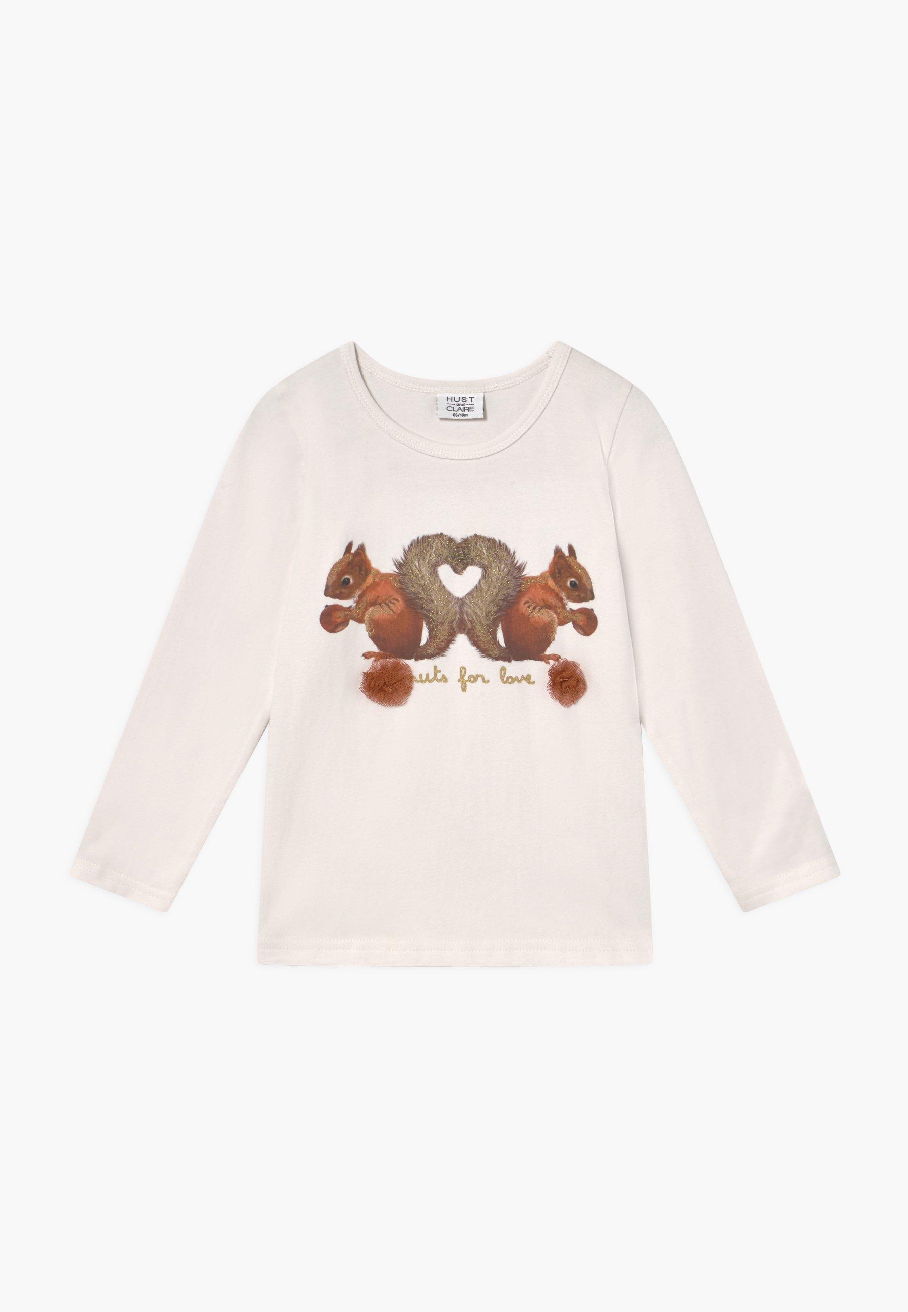 Große Förderung Hust & Claire ALMA - Langarmshirt - ivory | Damenbekleidung 2020