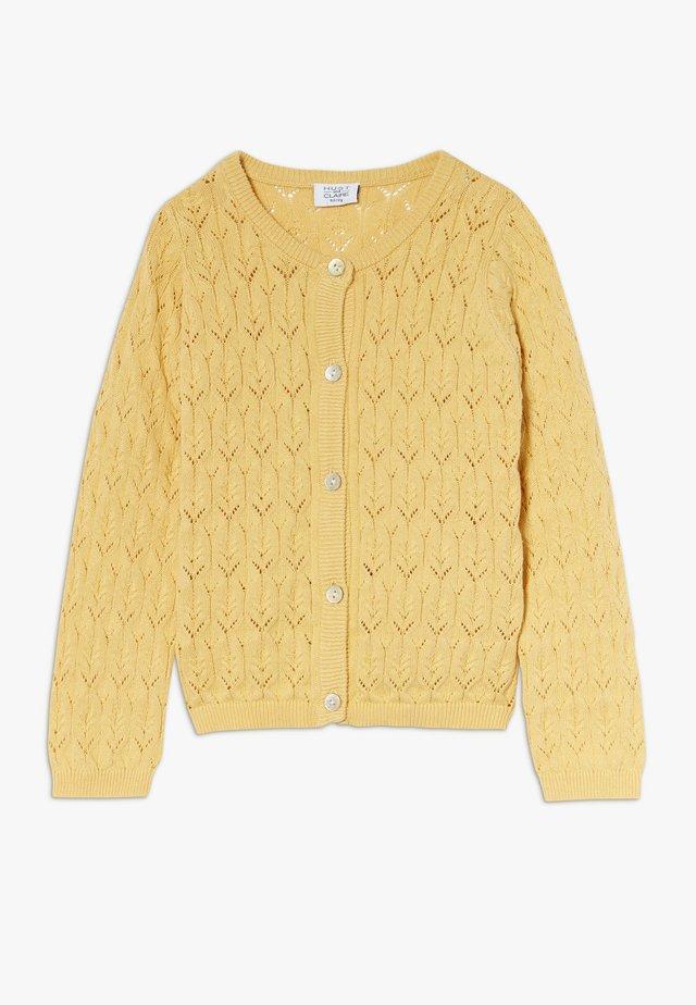 CHERI - Cardigan - yellow