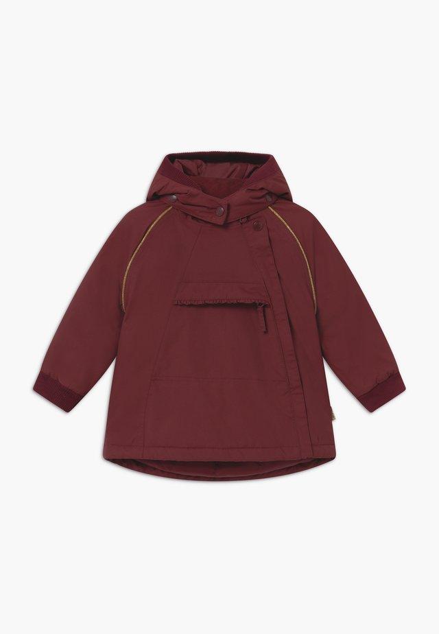 OBIA - Zimní bunda - mahogany