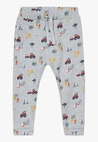 Hust & Claire - GORDON TROUSERS BABY - Tracksuit bottoms - grey - 0