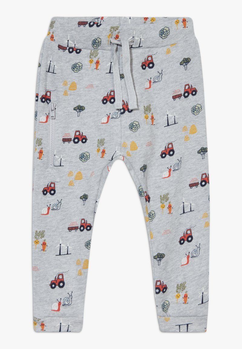 Hust & Claire - GORDON TROUSERS BABY - Tracksuit bottoms - grey
