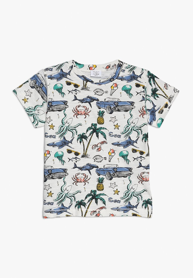 Hust & Claire - ANDY - Print T-shirt - ivory