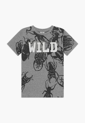 ALWIN - T-shirt print - pearl grey