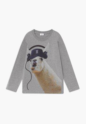 ARTI - T-shirt à manches longues - mottled grey