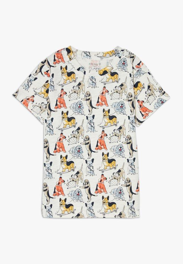 ANKER DOGS - T-shirt imprimé - multicoloured