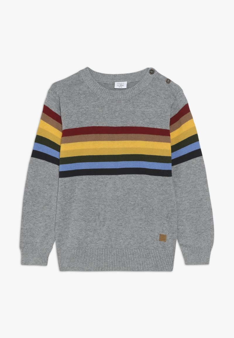 Hust & Claire - PELLE - Sweter - light grey melange