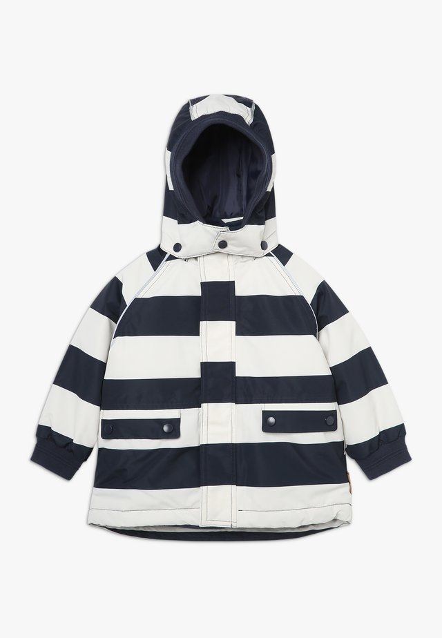 STRIPE JACKET BABY - Veste d'hiver - navy