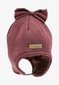 Hust & Claire - FIRA HAT BABY - Bonnet - plum - 1