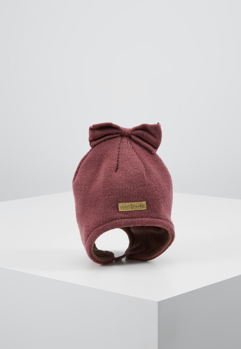 Hust & Claire - FIRA HAT BABY - Bonnet - plum