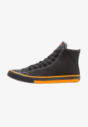 NATHAN - High-top trainers - black