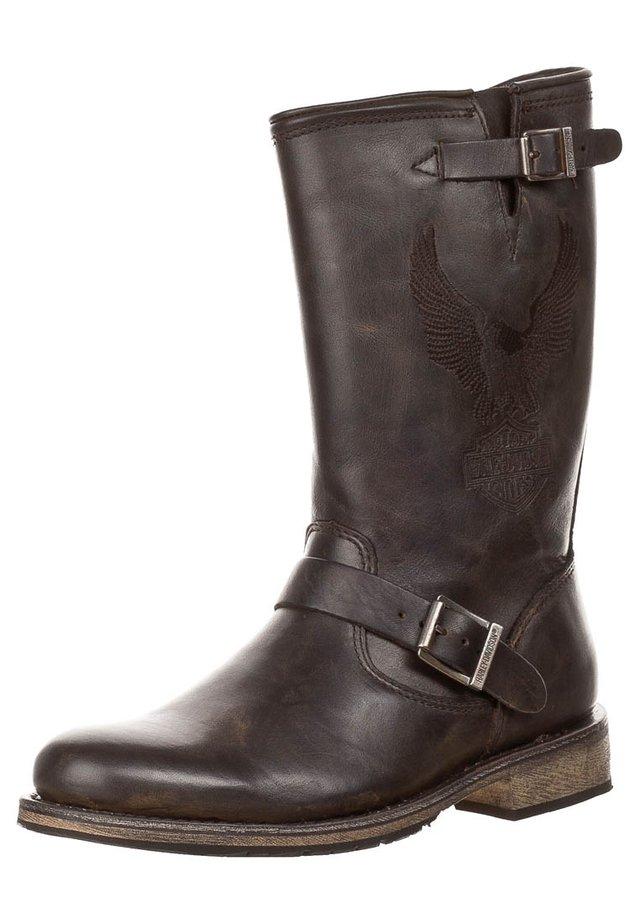 CLINT - Cowboy/Biker boots - brown