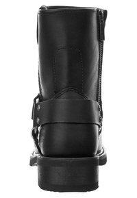 Harley Davidson - EL PASO - Cowboy/biker ankle boot - black - 1