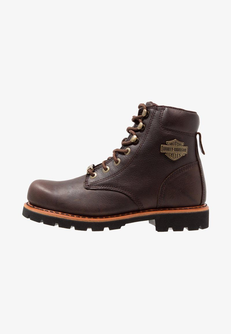 Harley Davidson - VISTA RIDGE   - Lace-up ankle boots -  brown