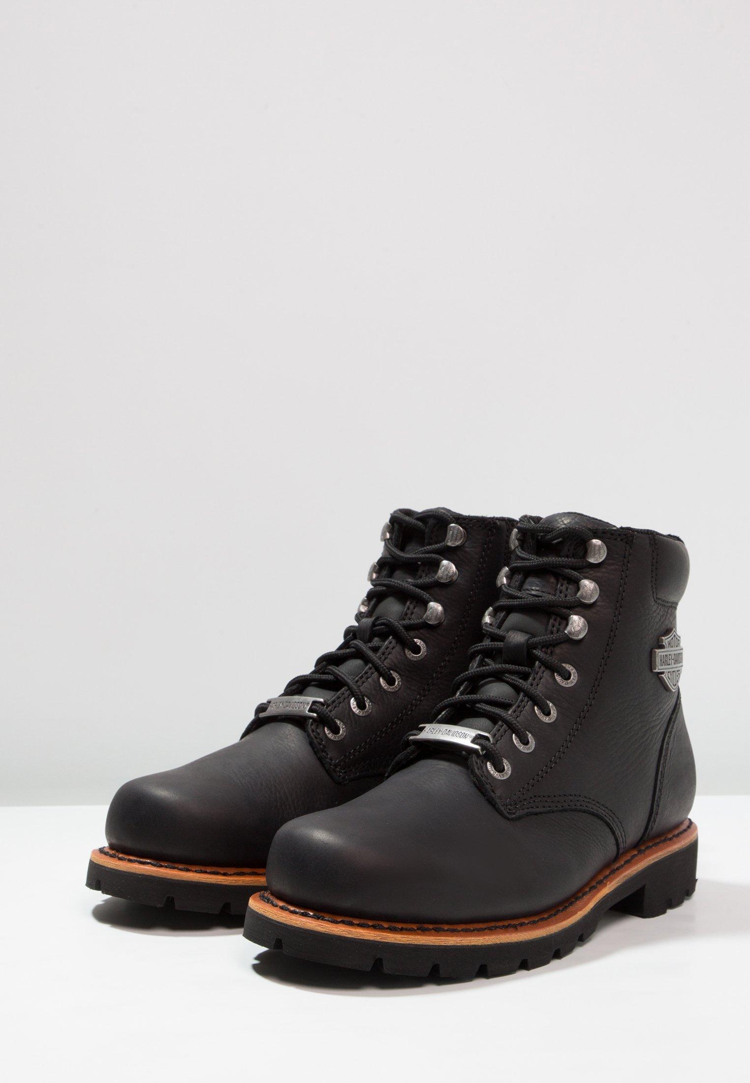 Harley Davidson VISTA RIDGE - Botines con cordones - black
