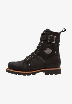 WICKSON - Botines camperos - black