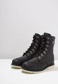 Harley Davidson - LOTTMAN - Cowboy/biker ankle boot - black - 2