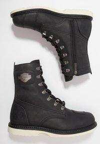 Harley Davidson - LOTTMAN - Cowboy/biker ankle boot - black - 1