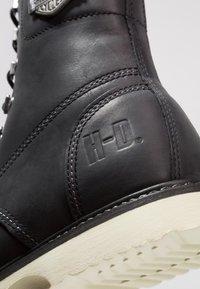 Harley Davidson - LOTTMAN - Cowboy/biker ankle boot - black - 5