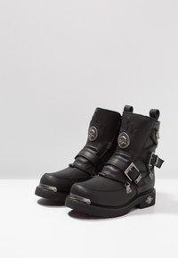 Harley Davidson - DISTORTION - Kovbojské/motorkářské boty - black - 2