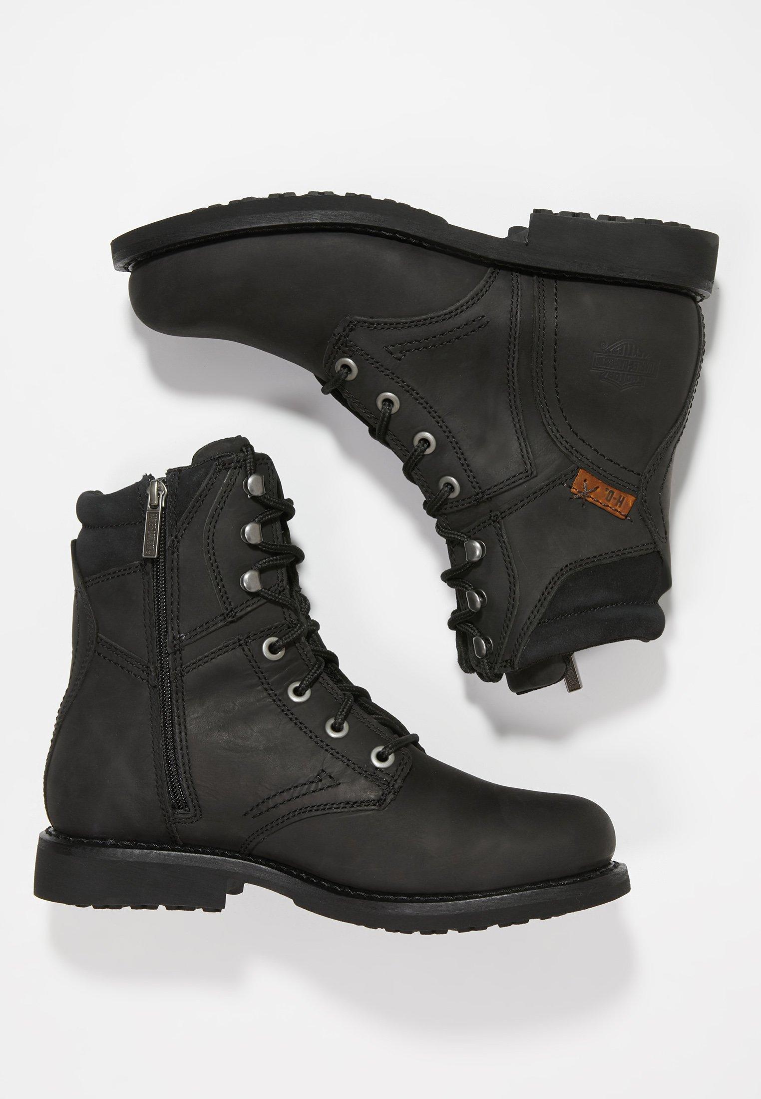 Harley Davidson DARNEL - Cowboy- / bikerstøvlette - black