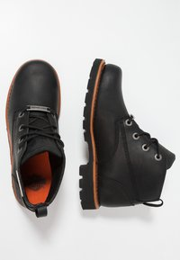 Harley Davidson - BROXTON - Lace-up ankle boots - black - 1