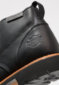 Harley Davidson - BROXTON - Lace-up ankle boots - black - 5