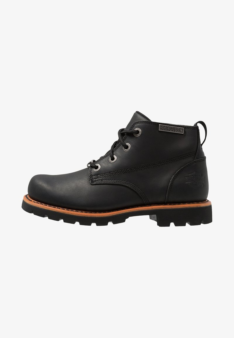 Harley Davidson - BROXTON - Lace-up ankle boots - black
