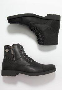 Harley Davidson - MAINE - Cowboy/biker ankle boot - black - 1
