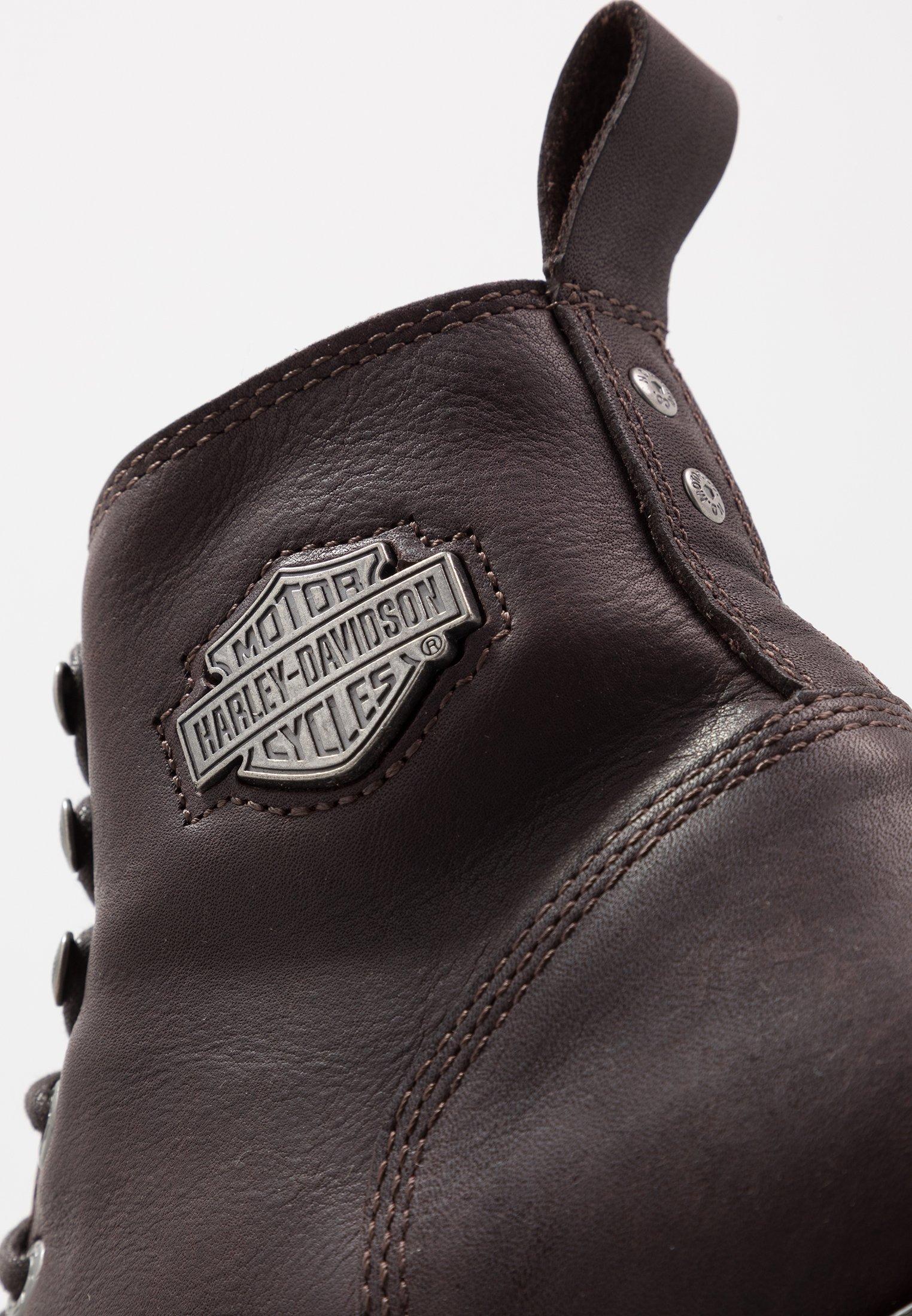Harley Davidson WILLARD - Botki sznurowane - porter