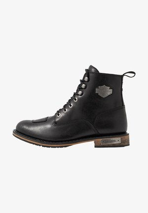 WILLARD - Botines con cordones - sheen black